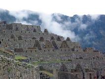 Machu Picchu, Peru. A view from the top of Machu Picchu, Peru royalty free stock image