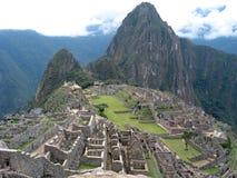 Machu Picchu, Peru. A view from the top of Machu Picchu, Peru stock photography