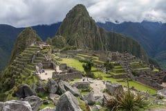 Machu Picchu - Peru - Zuid-Amerika Royalty-vrije Stock Foto