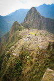 Machu Picchu, a Peruvian Historical Sanctuary in 1981 and a UNES Stock Image