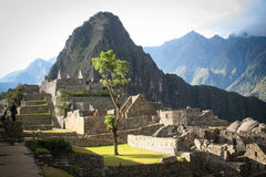 Machu Picchu, a Peruvian Historical Sanctuary in 1981 and a UNES Royalty Free Stock Photography