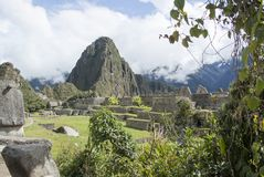 Machu Picchu, a Peruvian Historical Sanctuary in 1981 and a UNESCO World Heritage Site in 1983. One of the New Seven Wonders of the World stock images
