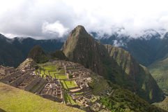 Machu Picchu a place of interest Royalty Free Stock Image