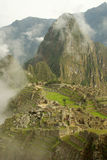 Machu Picchu in primo mattino Fotografia Stock