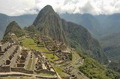 Machu Picchu, región de Cusco, Perú - 22 de septiembre de 2012 imagen de archivo