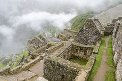 Machu Picchu Residential District Royalty Free Stock Images