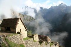 Machu Picchu - restauración Imagen de archivo libre de regalías