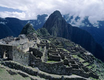 Machu Picchu Rins in Peru Stock Photography