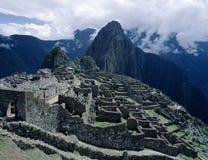 Machu Picchu Rins in Peru Stock Photography