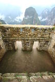 Machu Picchu, a ruína do inca de Peru Fotos de Stock Royalty Free