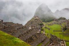 machu picchu ruin Peru 3 d formie wymiarowej Amerykę wspaniałą na południe ilustracyjni trzech bardzo Żadny ludzie Fotografia Stock