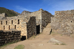 Machu Picchu Ruinen Lizenzfreies Stockbild
