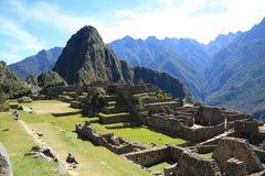 Machu Picchu Ruinen Lizenzfreie Stockbilder