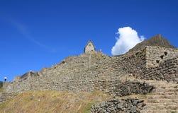Machu Picchu Ruinen Stockbild