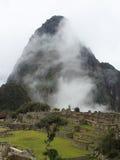 Machu Picchu Ruinen in Peru Stockbilder