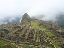 Machu Picchu Ruinen in Peru Lizenzfreies Stockbild