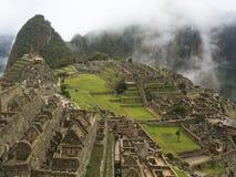 Machu Picchu Ruinen in Peru Lizenzfreie Stockfotos