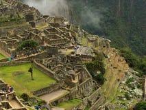 Machu Picchu Ruinen in Peru Stockfotos