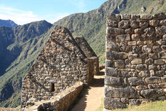Machu Picchu ruins Royalty Free Stock Photography