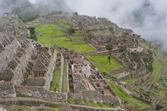 Machu Picchu Ruins Stock Photo