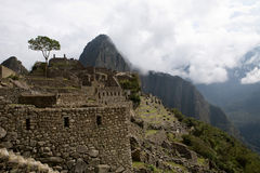 Machu Picchu Ruins Royalty Free Stock Photo