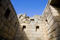 Machu Picchu ruins Royalty Free Stock Images