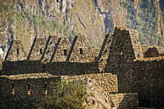 Machu Picchu ruins Stock Photography