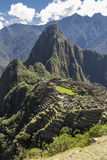 Machu Picchu ruins Cuzco Peru Royalty Free Stock Images