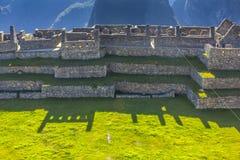 Machu Picchu ruins Cuzco Peru Royalty Free Stock Images