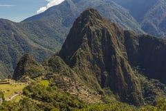Machu Picchu ruins Cuzco Peru Stock Images