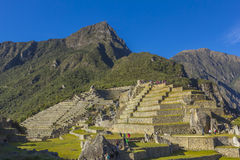 Machu Picchu ruins Cuzco Peru Royalty Free Stock Image