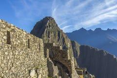 Machu Picchu ruins Cuzco Peru Stock Photos