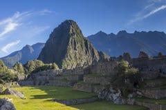 Machu Picchu ruins Cuzco Peru Stock Photo