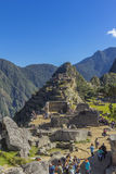 Machu Picchu ruins Cuzco Peru Royalty Free Stock Photo
