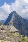 Machu Picchu ruins. Ruins of Machu Picchu, Peru. The ancient Inca city Royalty Free Stock Photo