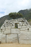 Machu Picchu ruins in Peru Royalty Free Stock Image