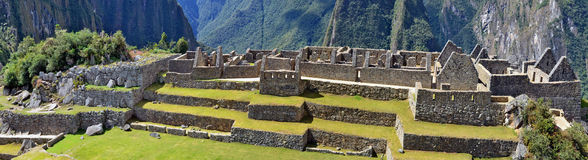 Machu Picchu - is a sacred town of  Inca empire Royalty Free Stock Images