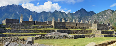 Machu Picchu - is a sacred town of  Inca empire Royalty Free Stock Image