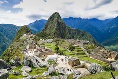 Machu Picchu, sette meraviglie del mondo del thw, ¹ di Perà Fotografie Stock