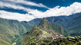 Machu Picchu, Seven wonders of the world, Perù. Machu Picchu, Seven wonders of the world, Unesco site in departement of Cusco, Per Stock Image