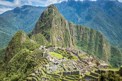 Machu Picchu, Seven wonders of the world, Perù. Machu Picchu, Seven wonders of the world, Unesco site in departement of Cusco, Per Royalty Free Stock Photography