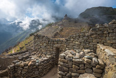 Machu Picchu, sito del patrimonio mondiale dell'Unesco Immagini Stock Libere da Diritti