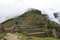 Machu Picchu Stonework Royalty Free Stock Photos