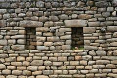 Machu Picchu Stonework Royalty Free Stock Images