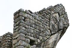 Machu Picchu Stonework Royalty Free Stock Photography