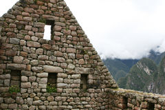 Machu Picchu Stonework Stock Photos