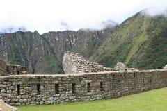 Machu Picchu Stonework Stock Images
