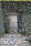 Machu Picchu Stonework Royalty Free Stock Image