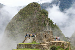Machu Picchu Stonework Royalty Free Stock Photo