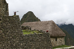 Machu Picchu Stonework Stock Photography
